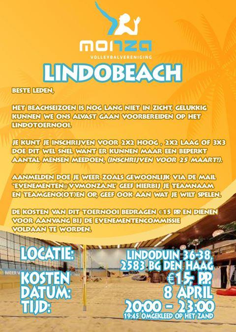 Uitnodiging Lindobeach