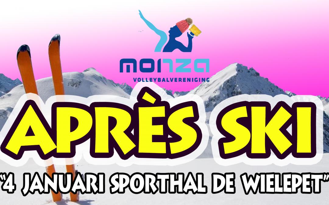 4 januari 2019: het traditionele champagnetoernooi met als thema après ski