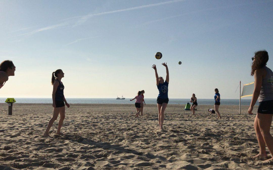Monza Beachvolleybal trainingen gaan weer beginnen!