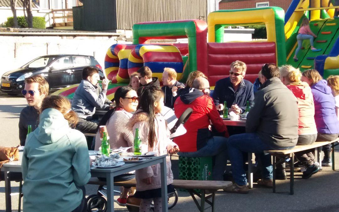 Super BBQ ter ere van 10-jarig jubileum vvMonza