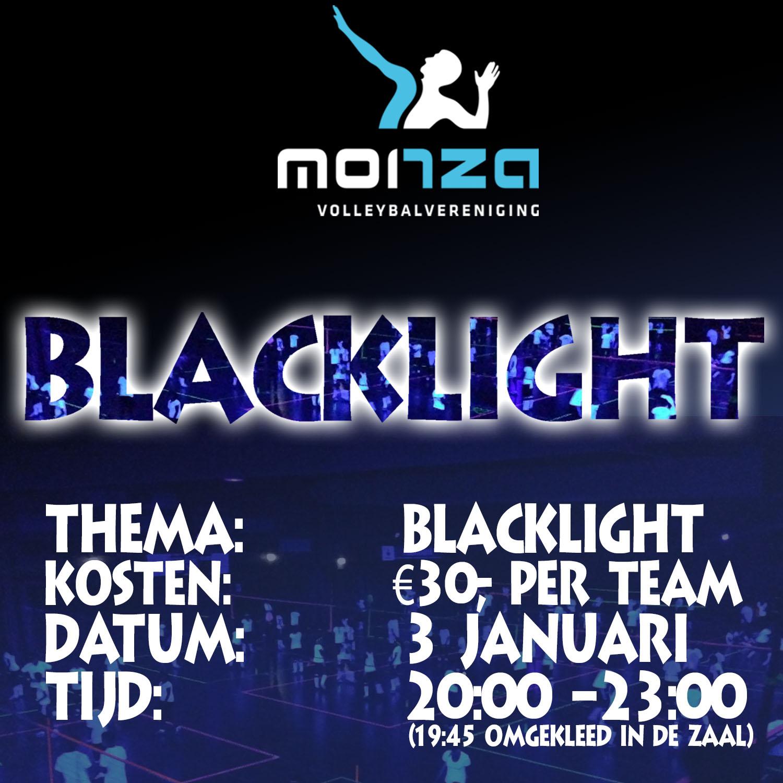 Blacklight Toernooi, 3 januari 2019 20:00-23:00