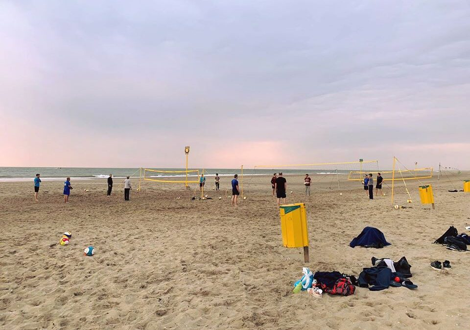 Belangrijk bericht: beachvolleybal woensdag 17 juni